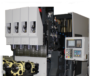 4-Spindle Vertical Machining Center