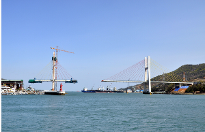 cable stayed 교량